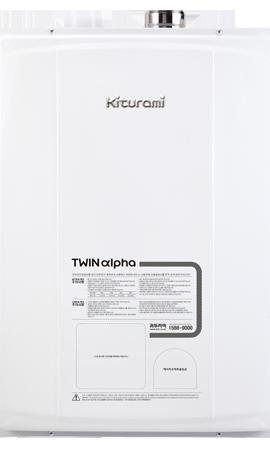 Газовый настенный двухконтурный котел Kiturami Twin Alpha R16