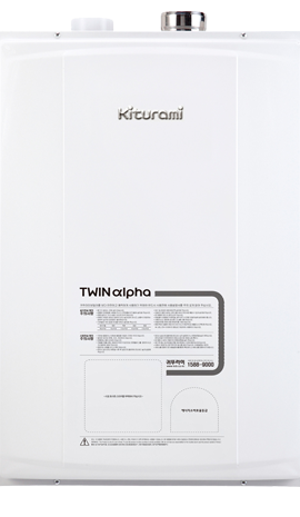 Газовый настенный двухконтурный котел Kiturami Twin Alpha R30